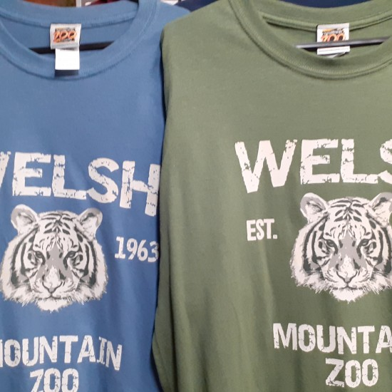 WELSH MOUNTAIN ZOO ADULT  T-SHIRTS