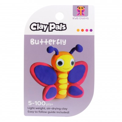 CLAY PALS BUTTERFLY