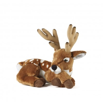 LIVING NATURE DEER WITH ANTLERS AN60